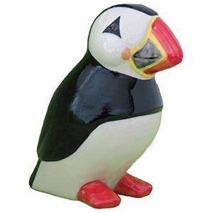 """Quail Ceramics Quail Figurine 3"""" Puffin"""