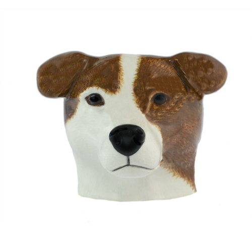 Quail Ceramics Quail Jack Russell Face Eggcup