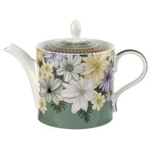 Portmeirion Atrium Floral Teapot 2pt