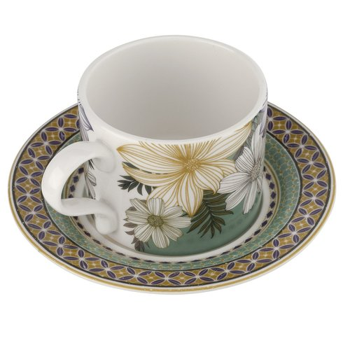 Portmeirion Portmeirion Atrium Teacup and Saucer
