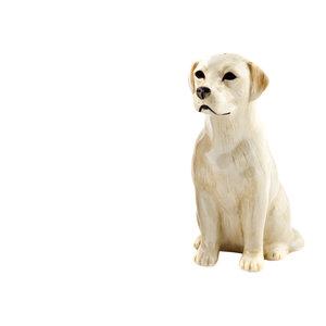 Quail Ceramics Quail Golden Labrador Figure