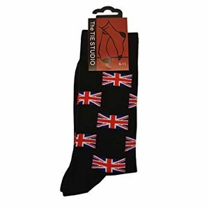 the tie studio Union Jack Socks