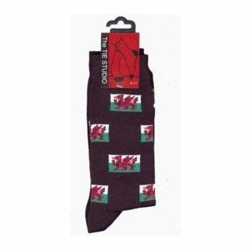 the tie studio The Tie Studio Welsh Socks