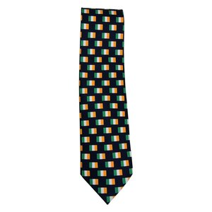 The Tie Studio Irish Tri Colors Tie