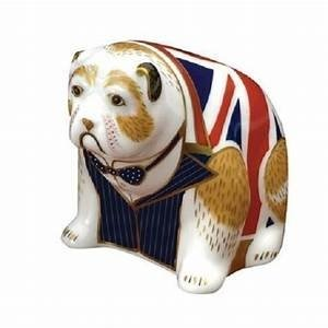 Royal Crown Derby Winston Churchill Bulldog