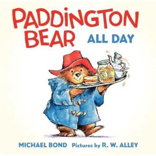Harper Paddington Bear All Day Board Book - Bond, Michael