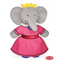 "Babar Celeste 9.25"" Bean-Filled Toy"