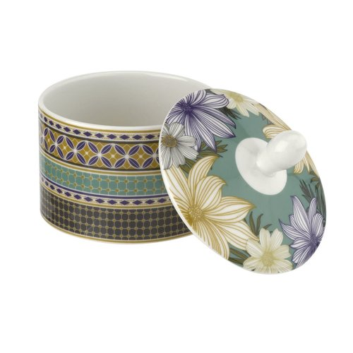Portmeirion Atrium Covered Sugar Dish