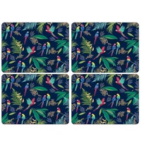 Sara Miller Parrot Placemats Set of 4