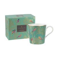 Sara Miller Chelsea Collection Mug- Green
