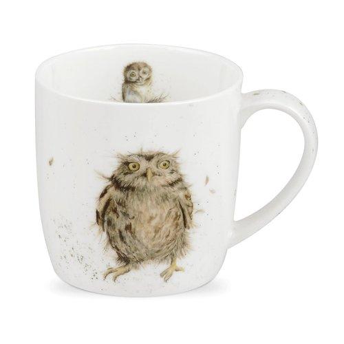 Wrendale Wrendale What A Hoot Small Mug