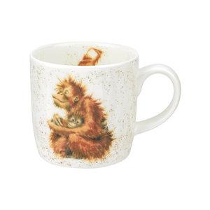 Wrendale Wrendale Orangutangle Large Mug