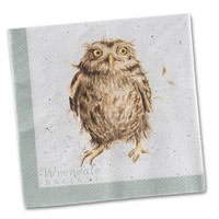 Wrendale What A Hoot Napkins Luncheon