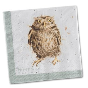 Wrendale Wrendale What A Hoot Napkins Luncheon