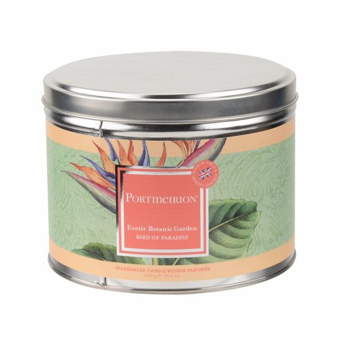 Portmeirion Exotic Botanic Garden Bird of Paradise Candle Large