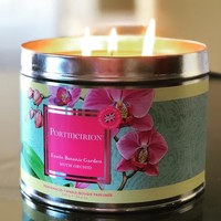 Portmerion Botanic Gardens Moth Orchid Candle Large