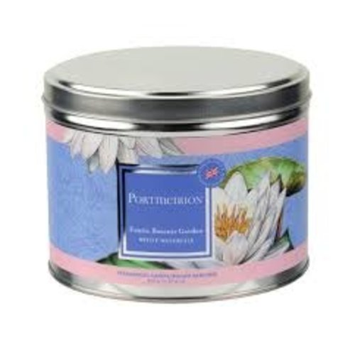 Portmeirion Portmerion White Waterlily Candle Large