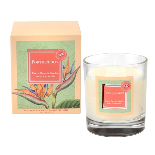 Portmeirion Portmerion Exotic Botanic Garden Birds of Paradise Candle