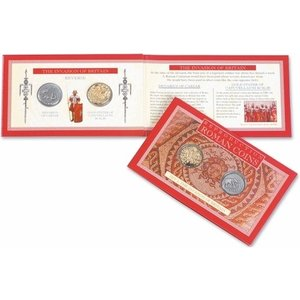 westair Westair Reproductions Roman Coins Pack of 2 Invasion