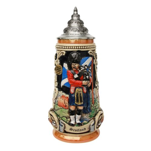Scotland King Original Stein Limited Edition #139