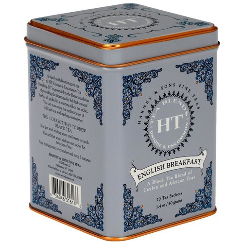 Harney & Sons Harney & Sons English Breakfast Blend 20s Tin