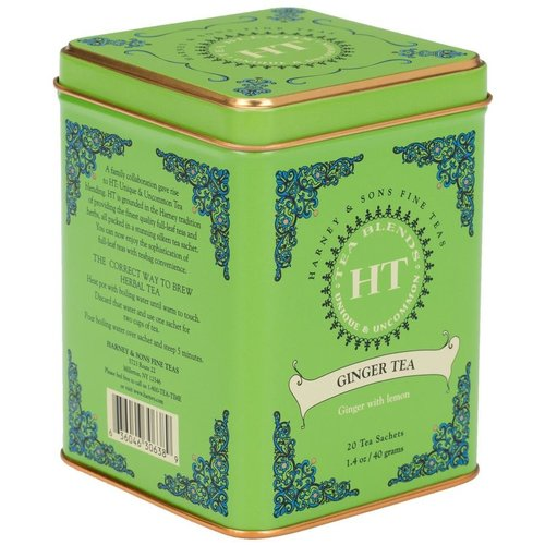 Harney & Sons Harney & Sons Ginger Tea 20's Tin