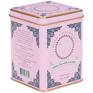 Harney & Sons Harney and Sons Green Tea with Coconut 20s Tin