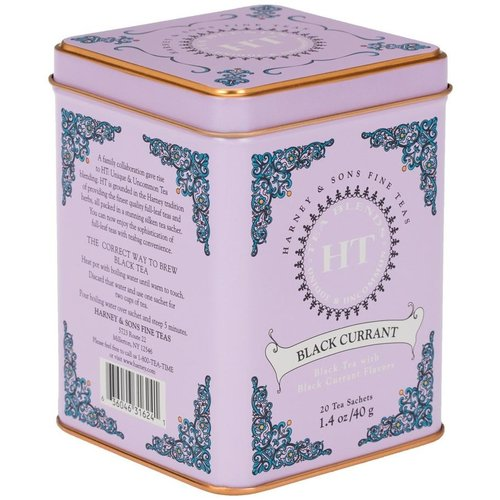 Harney & Sons Harney and Sons Blackcurrant 20s Tin
