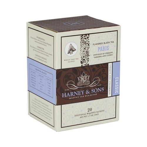 Harney & Sons Harney & Sons Paris Box of 20 Wrapped Sachets