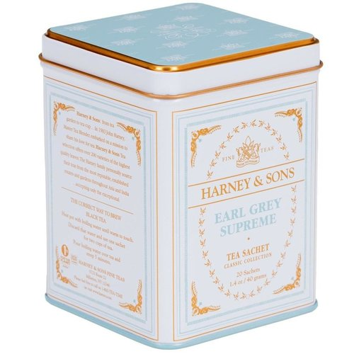 Harney & Sons Harney and Sons Earl Grey Supreme 20s Tin