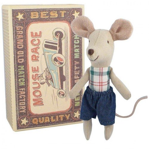 Maileg Mouse Race Little Brother in Box