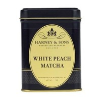 Harney & Sons White Peach Matcha Loose Tea Tin
