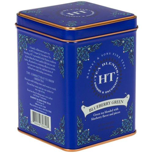 Harney & Sons Harney & Sons Blueberry Green 20s Tin