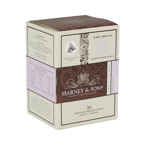 Harney & Sons Harney & Sons Dragon Pearl Jasmine Box of 20 Wrapped Sachets