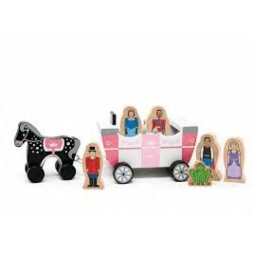 Jack Rabbit Royal Family Magnetic Carriage