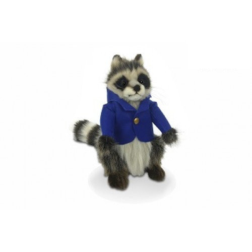 Hansa Creation USA Hansa Raccoon Boy 9''H