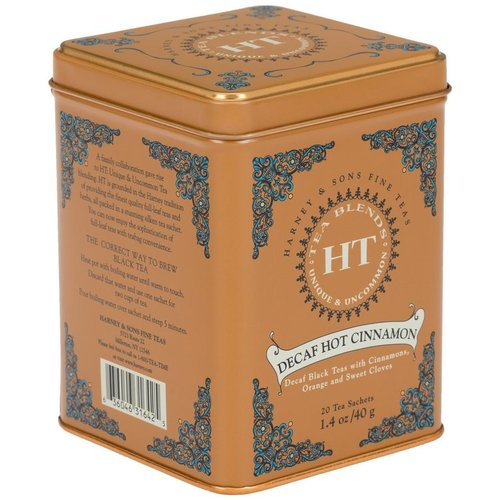 Harney & Sons Harney & Sons Decaf Hot Cinnamon Spice 20s Tin