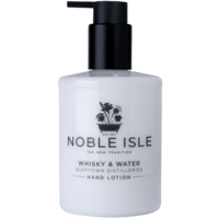 Noble Isle Whiskey and Water Hand Lotion