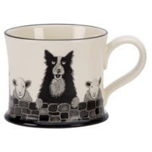 Moorland Pottery Moorland Pottery Sheep Dog Mug
