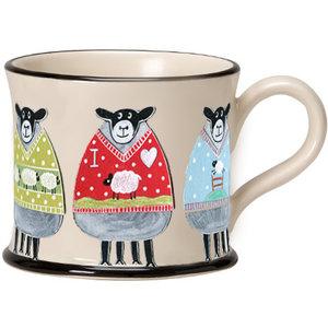 Moorland Pottery Moorland Pottery Wooly Jumper Mug