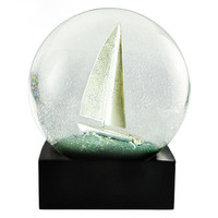 Cool SnowGlobes Sailboat