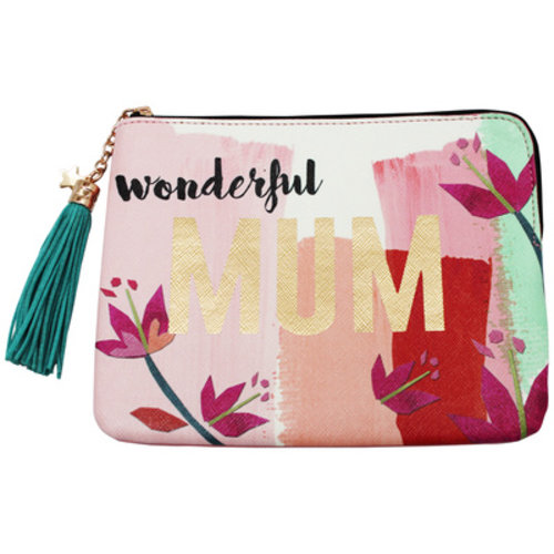 "Disaster Designs Disaster Designs Ta-Daa! ""Wonderful Mum"" Make-Up Bag"