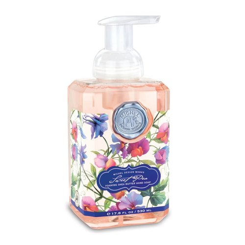 Michel Design Works Sweet Pea Foaming Soap