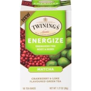 Twinings Twinings 18 CT Energize Matcha Cranberry Lime