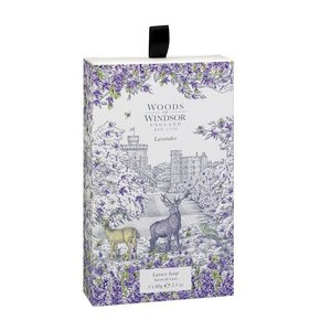 Woods of Windsor Lavender Luxury Soap 3 pack
