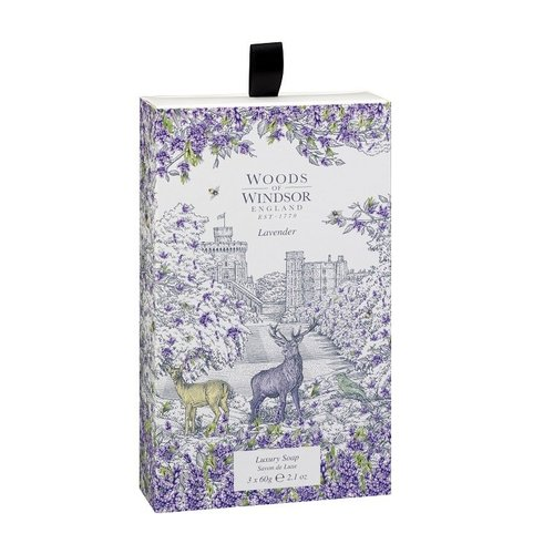 Woods of Windsor Woods of Windsor Lavender Luxury Soap 3 pack