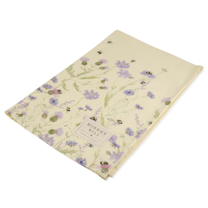 Mosney Mill Mosney Mill Bee and Flower Tea Towel