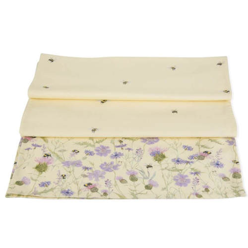 Mosney Mill Mosney Mill Bee and Flower Table Runner