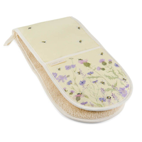Mosney Mill Bee and Flower Double Oven Mitts