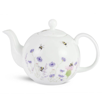Mosney Mill Bee and Flower Teapot